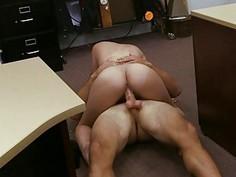 Cuban babe makes money sucking cock