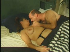 Chubby housewife hoe Kathy pleases her hubby in 69 position