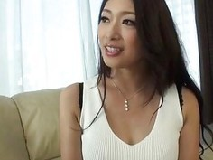 Busty Reiko wants cock in her tight vag