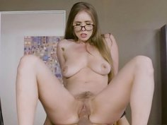 Lena instructs Jessy to lick her pussy