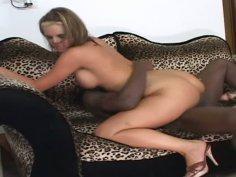 Busty hoochie Phoenix Marie getting her pussy slammed hard