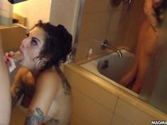 Pornstar orgy with Bonnie and Dahlia