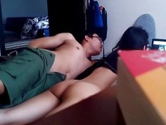 Vietnamese gal gets secretly filmed getting smashed by her boyfriend