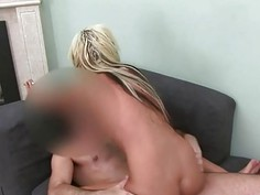 Shy princess sucking penis like model