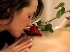 Intense orgasms for young lesbian pussylickers
