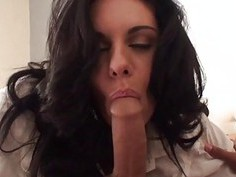 2 charming college students practice slit licking
