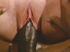 Lauryl Canyon Blondie Riding A Long Black Schlong