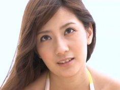 Mesmerizing Japanese cutie Anna Nakagawa shows off her appetizing ass