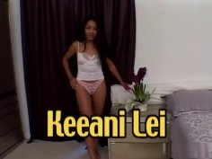 Keeani Lei swallows 8 cumshots and BTS