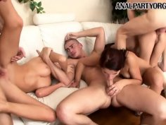Anal Fun At The Sex Party - Angel Rivas