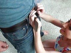 Kinky tight teen Alana Summers slammed by nasty dude