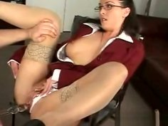 Getting Her Trimmed Cunt Fucked Delights Mature Babe