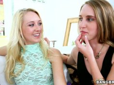 Awesome cuties licking each other. Cadence Lux and her girlfriends