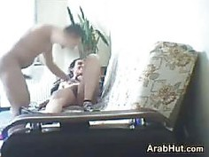 Arab Couple Having Sex At Home