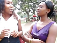 Beautiful amateur african lesbians taking it to the bathroom