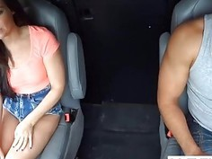Gorgeous Brunette Teen Fucks The Truck Driver